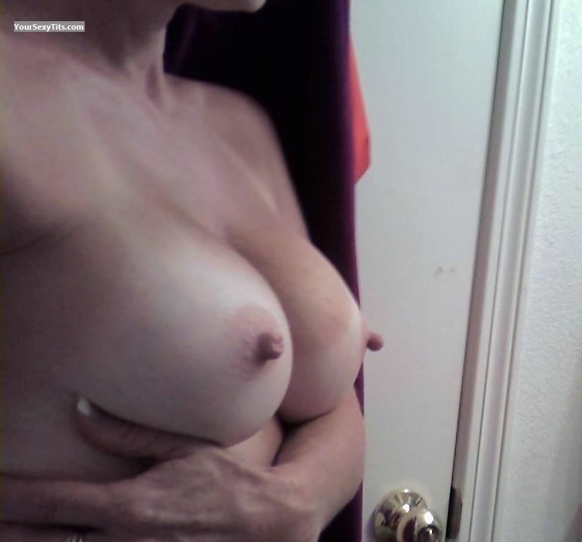 Tit Flash: My Medium Tits - Guess Who? from United States
