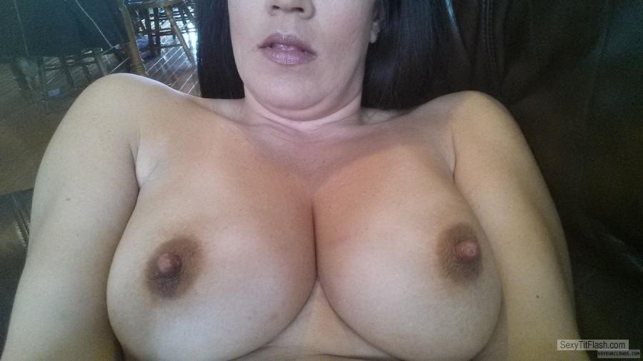 Big Tits Of My Wife Selfie by Misokindian