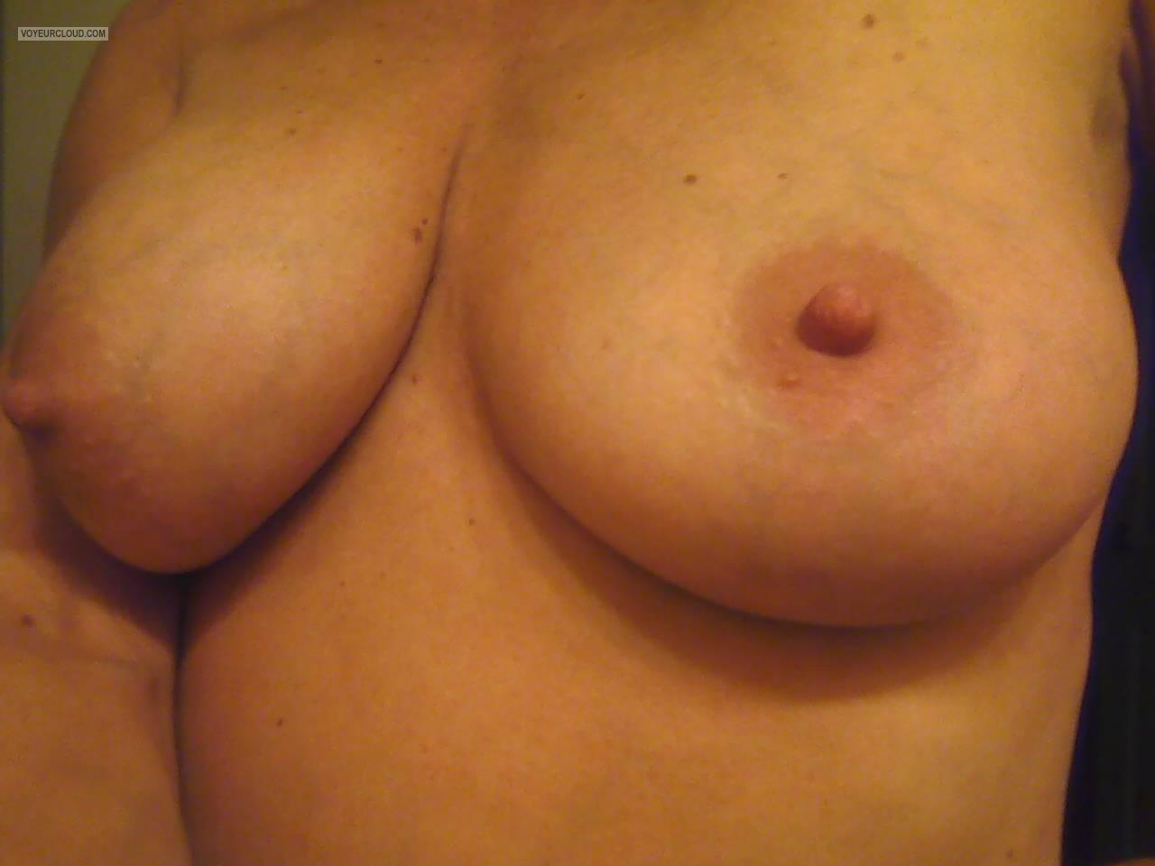 Big Tits Of My Wife Selfie by Mrs. Godzirra