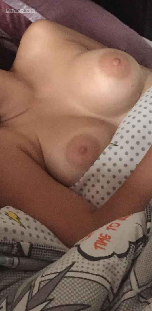 My Medium Tits Topless Kerry Asleep
