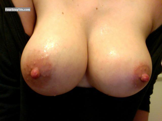 Tit Flash: My Very Big Tits (Selfie) - Catherine from France