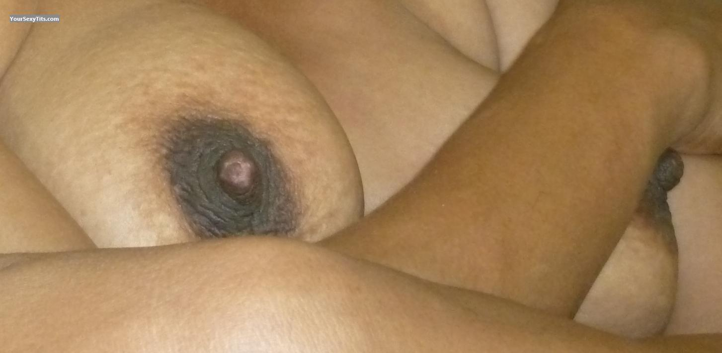 Tit Flash: Wife's Medium Tits - Hot Bitch from Malaysia