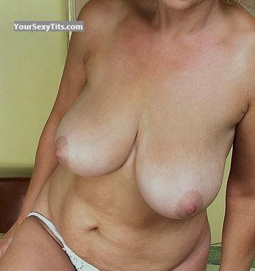 Tit Flash: My Medium Tits (Selfie) - Cami from United States