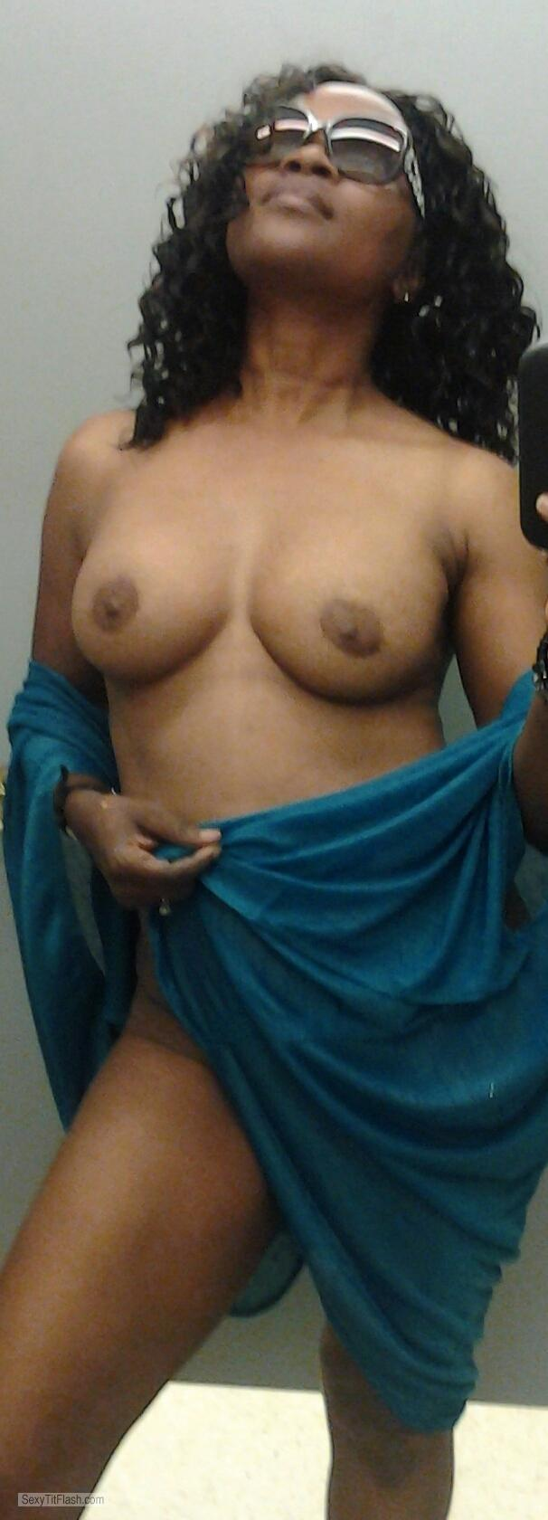 My Medium Tits Topless Selfie by Samantha