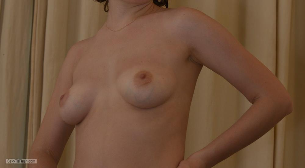 Small Tits Of My Girlfriend Bamy