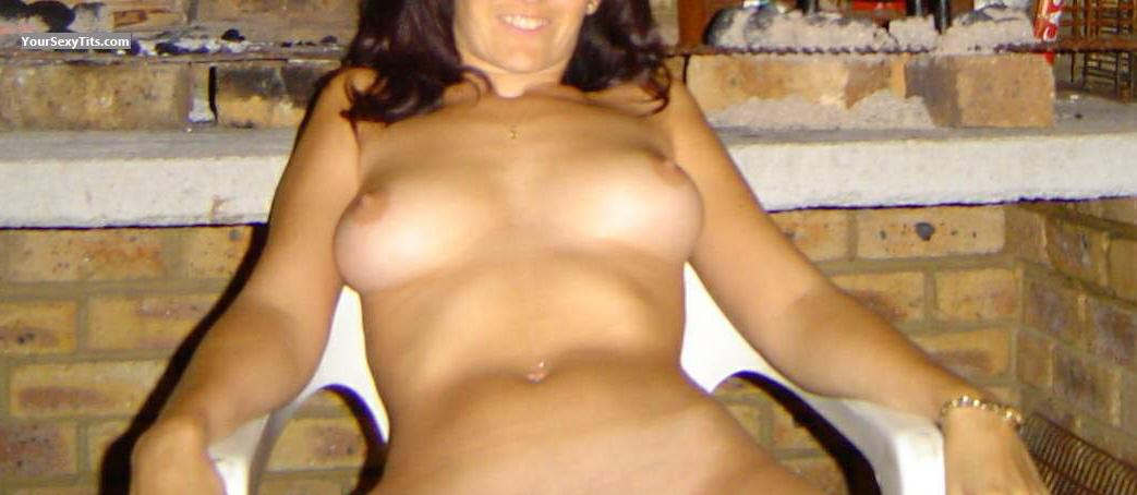 Tit Flash: Medium Tits - Rentia from South Africa