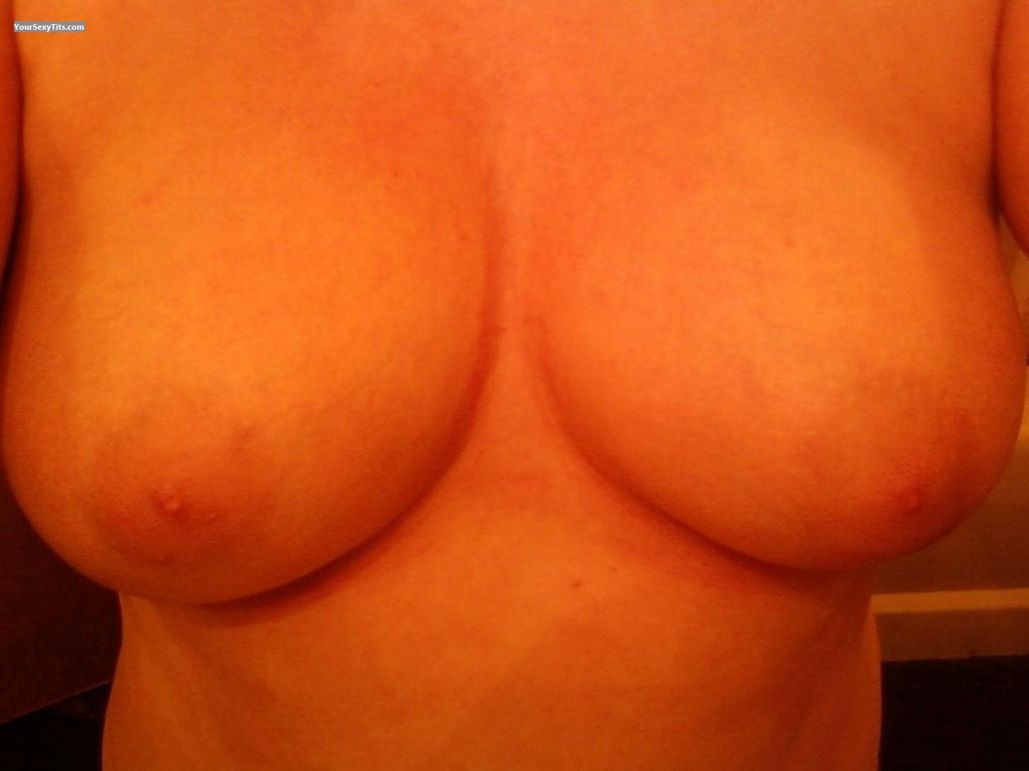 Tit Flash: My Medium Tits (Selfie) - Hot J! from United States