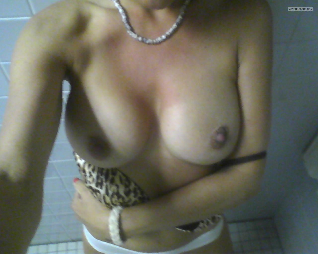 Tit Flash: My Big Tits (Selfie) - Calicali from United States