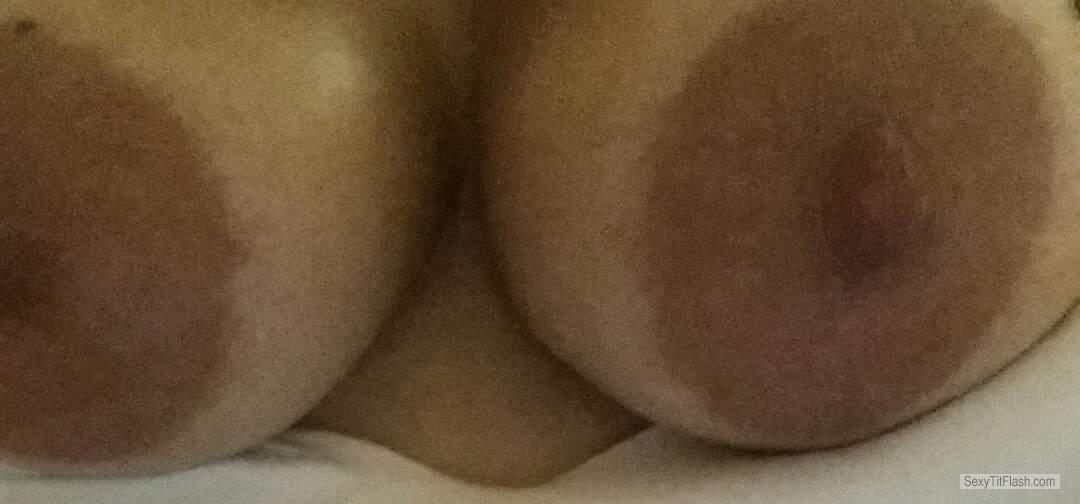 Tit Flash: My Medium Tits - Titfuk from United Kingdom