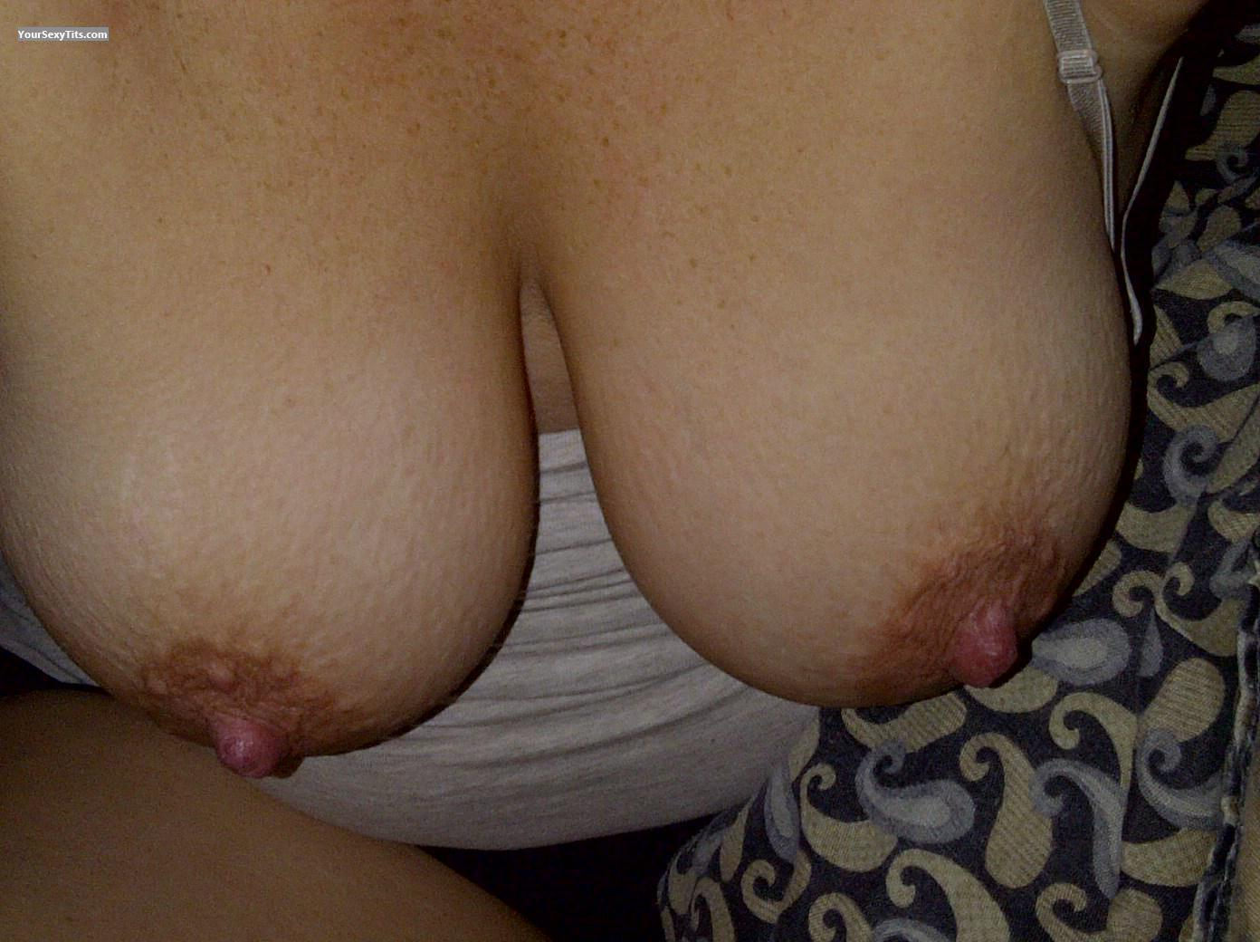 My Medium Tits Selfie by Hockeygirl