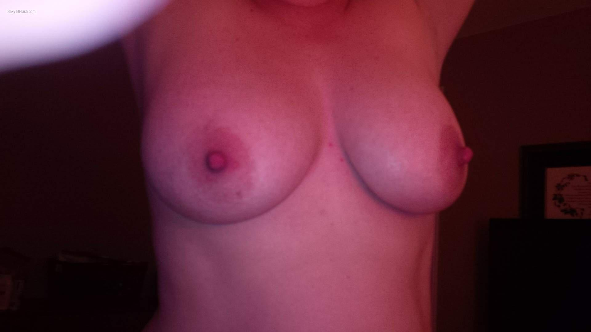Medium Tits Of My Wife Horny Wife