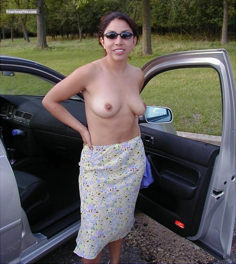 Medium Tits Topless Shades