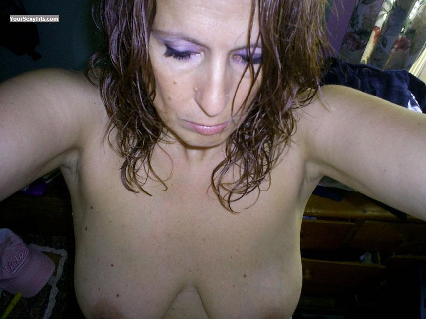 My Medium Tits Topless Selfie by RERE