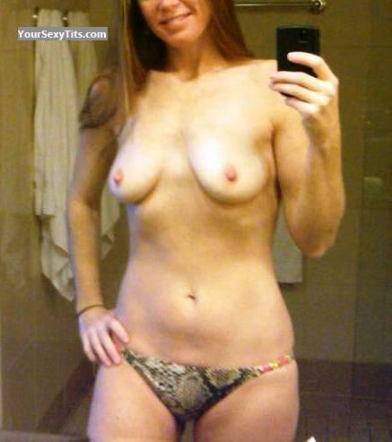 Tit Flash: My Medium Tits (Selfie) - Kimmy from United States