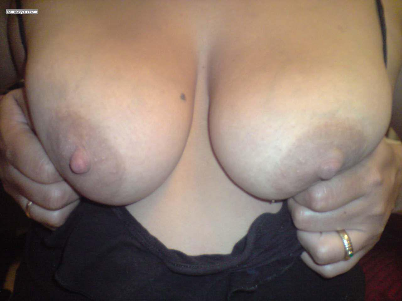Tit Flash: Medium Tits - Charco from Spain