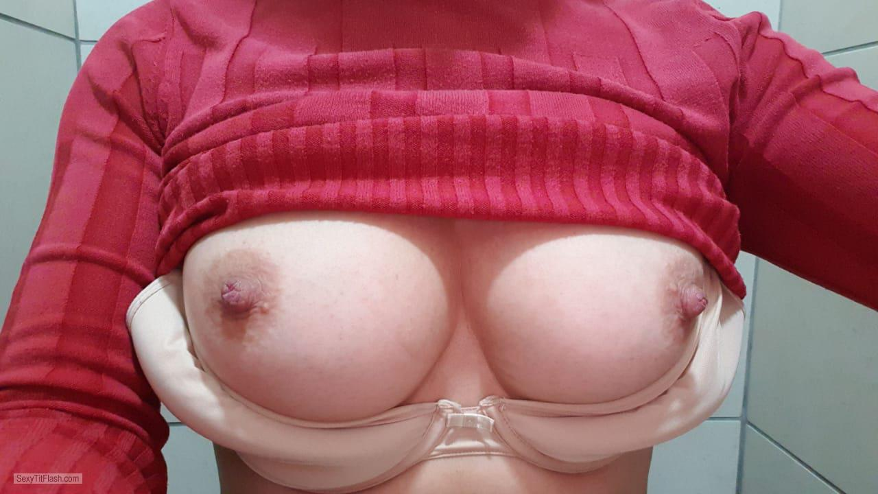 My Medium Tits Selfie by Hayley Howard