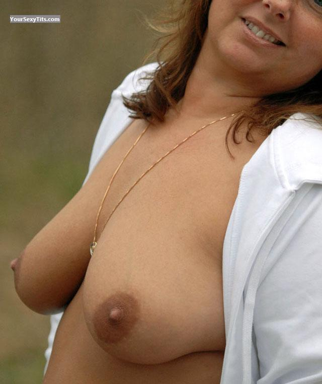 Tit Flash: Medium Tits - Sajpen from Sweden