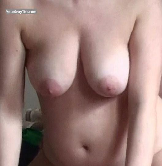 Tit Flash: My Medium Tits - Jonelle from United States