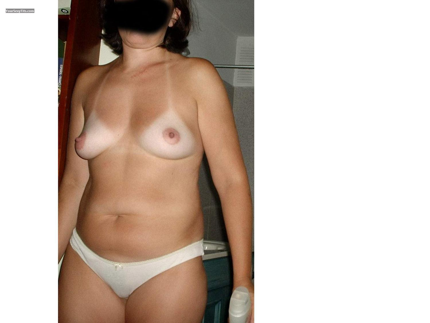 Medium Tits Wife Natural Breasts