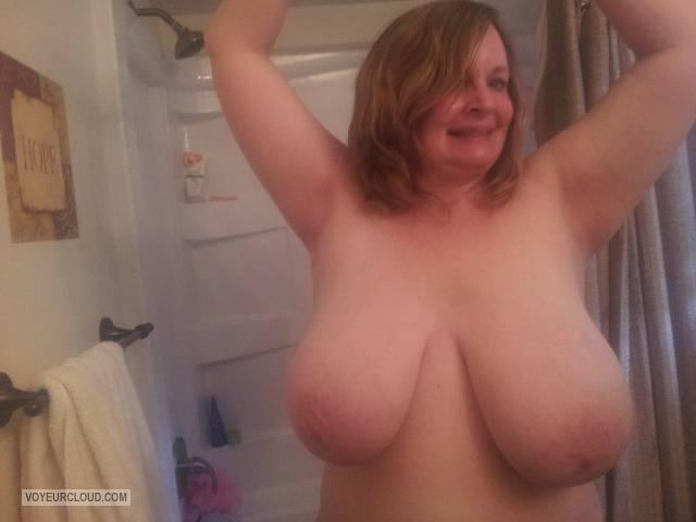My Very big Tits Topless Selfie by Lyn Topless