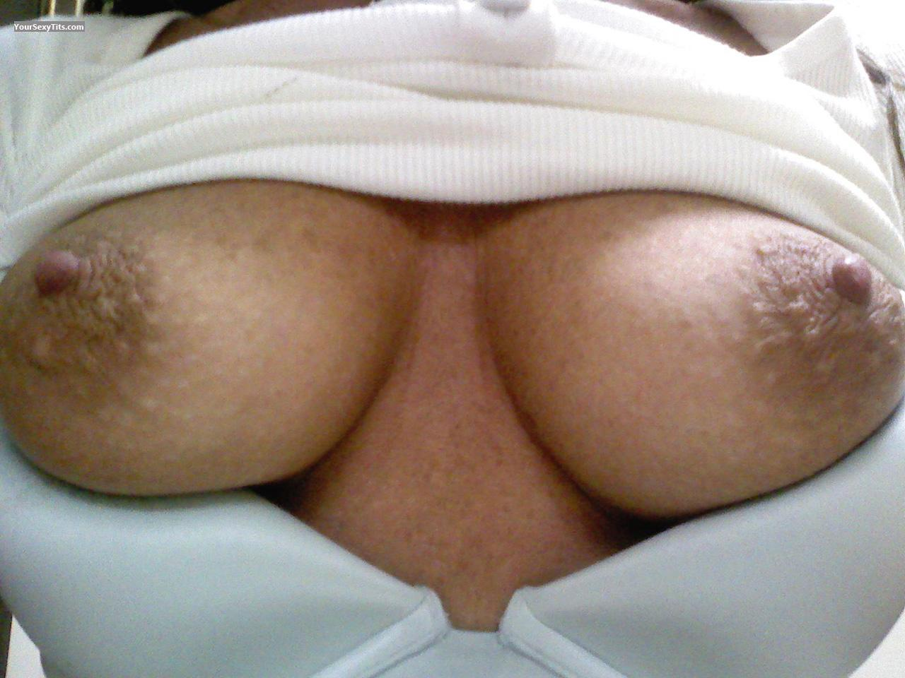 Tit Flash: My Medium Tits (Selfie) - Best Lips from United States