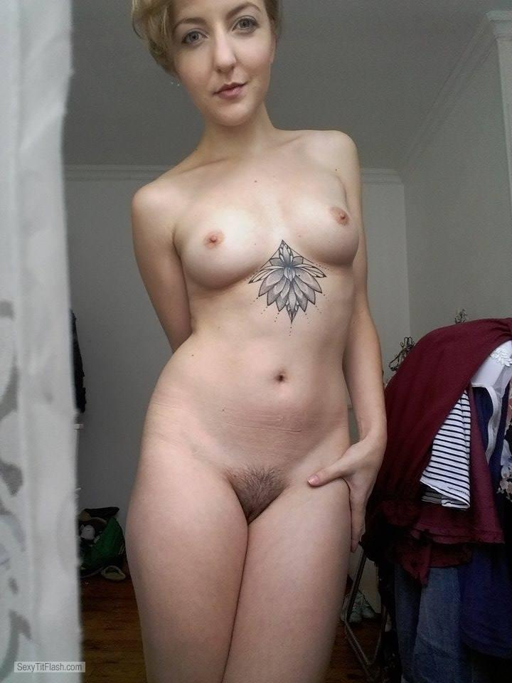 My Medium Tits Topless Selfie by Mad