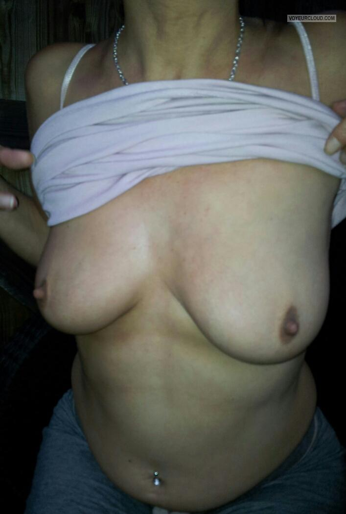 Medium Tits Of My Wife Hornyboobs