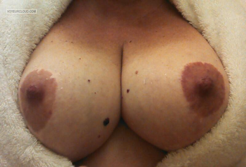 Tit Flash: My Tanlined Big Tits (Selfie) - Rhonnie from United States