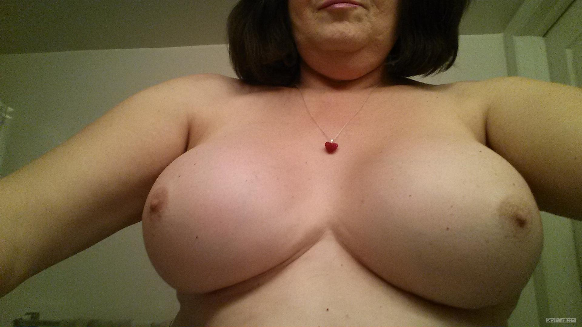 Tit Flash: My Medium Tits - Sammi from United Kingdom
