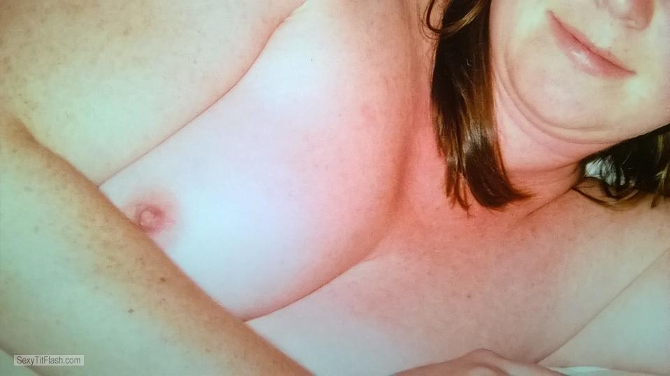 My Small Tits Selfie by Sexymilf