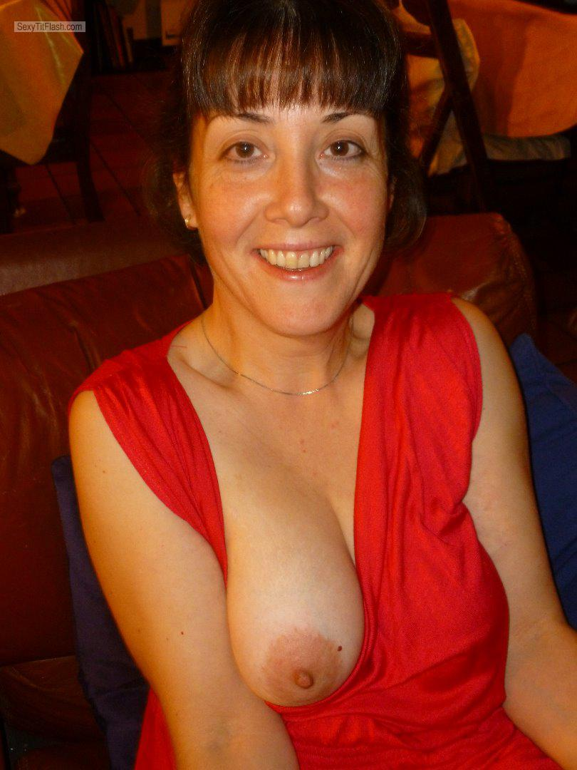 Medium Tits Of My Wife Topless SweetClaire English Milf