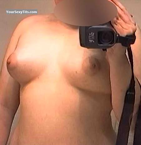 Tit Flash: Medium Tits - Lyn At 25 Yrs Old from United States