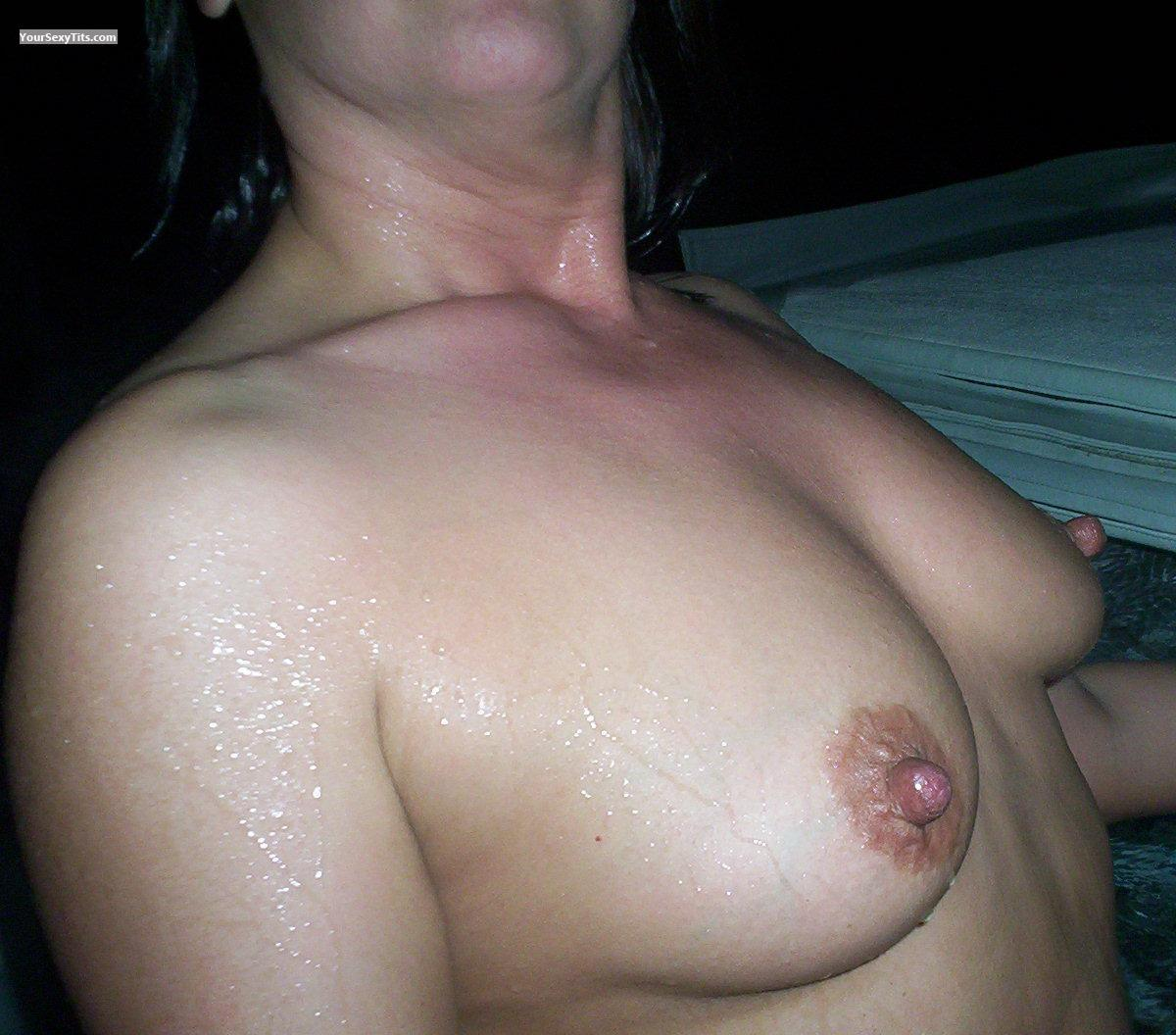 Medium Tits Of A Friend Wifey