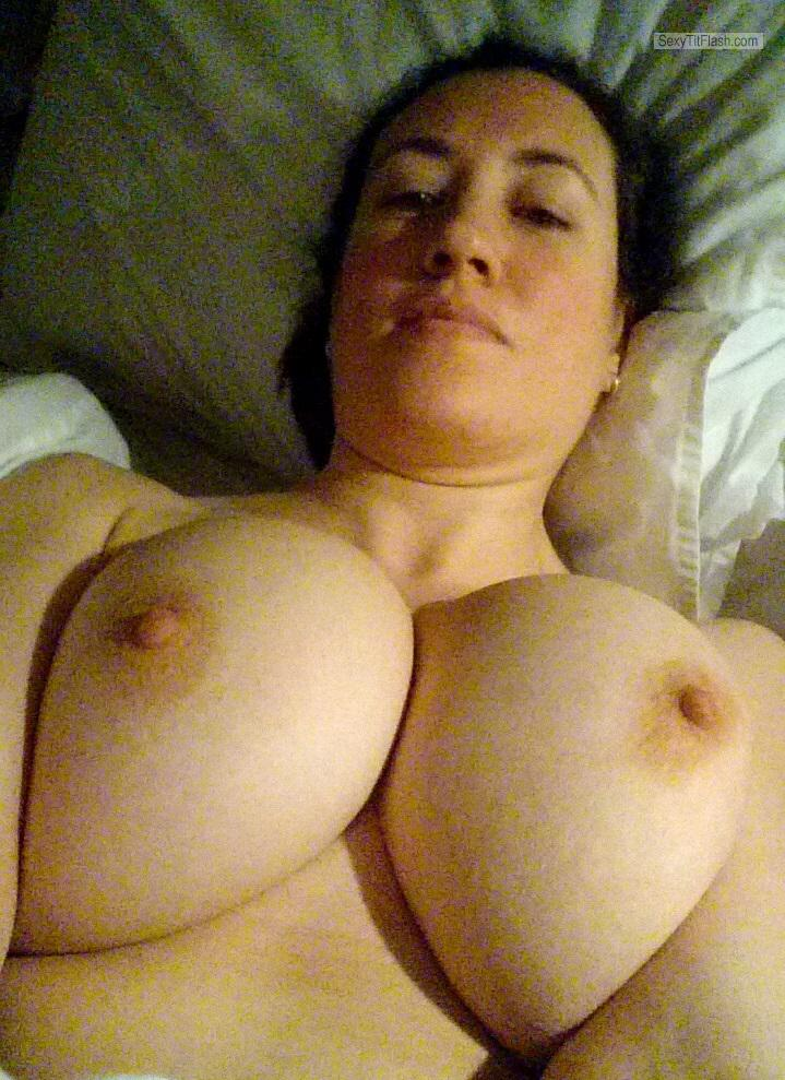 My Medium Tits Topless Selfie by Alison