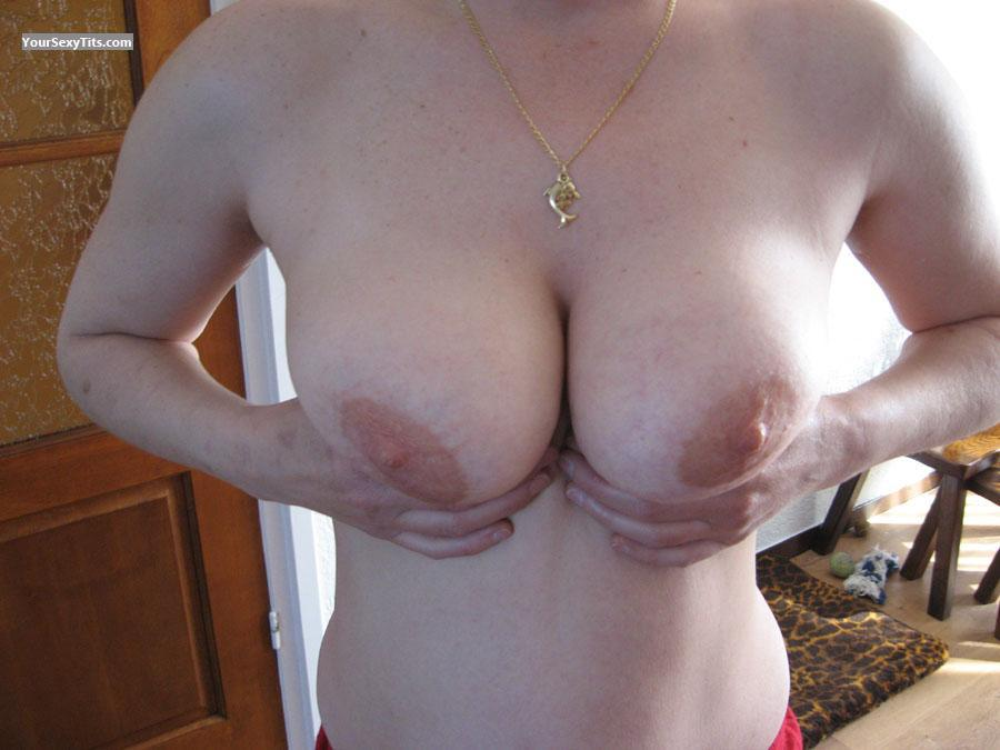 Tit Flash: Medium Tits - Jo36 from Netherlands