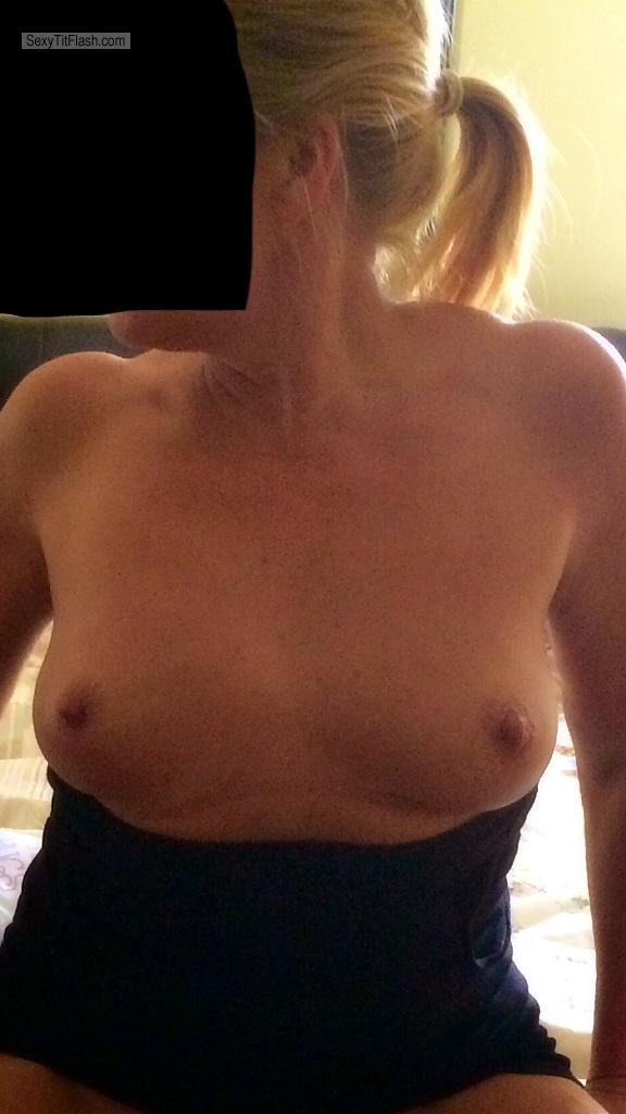 Tit Flash: Wife's Small Tits - Porto1 from United Kingdom