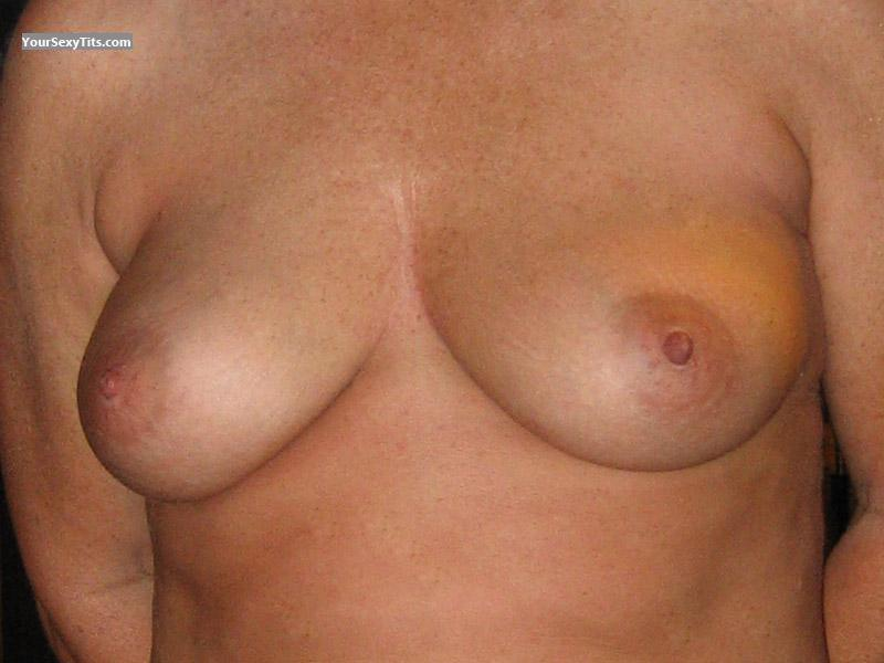 Tit Flash: Medium Tits - Jill from United States