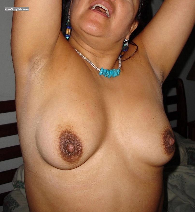 Tit Flash: Medium Tits - Maggie from Mexico
