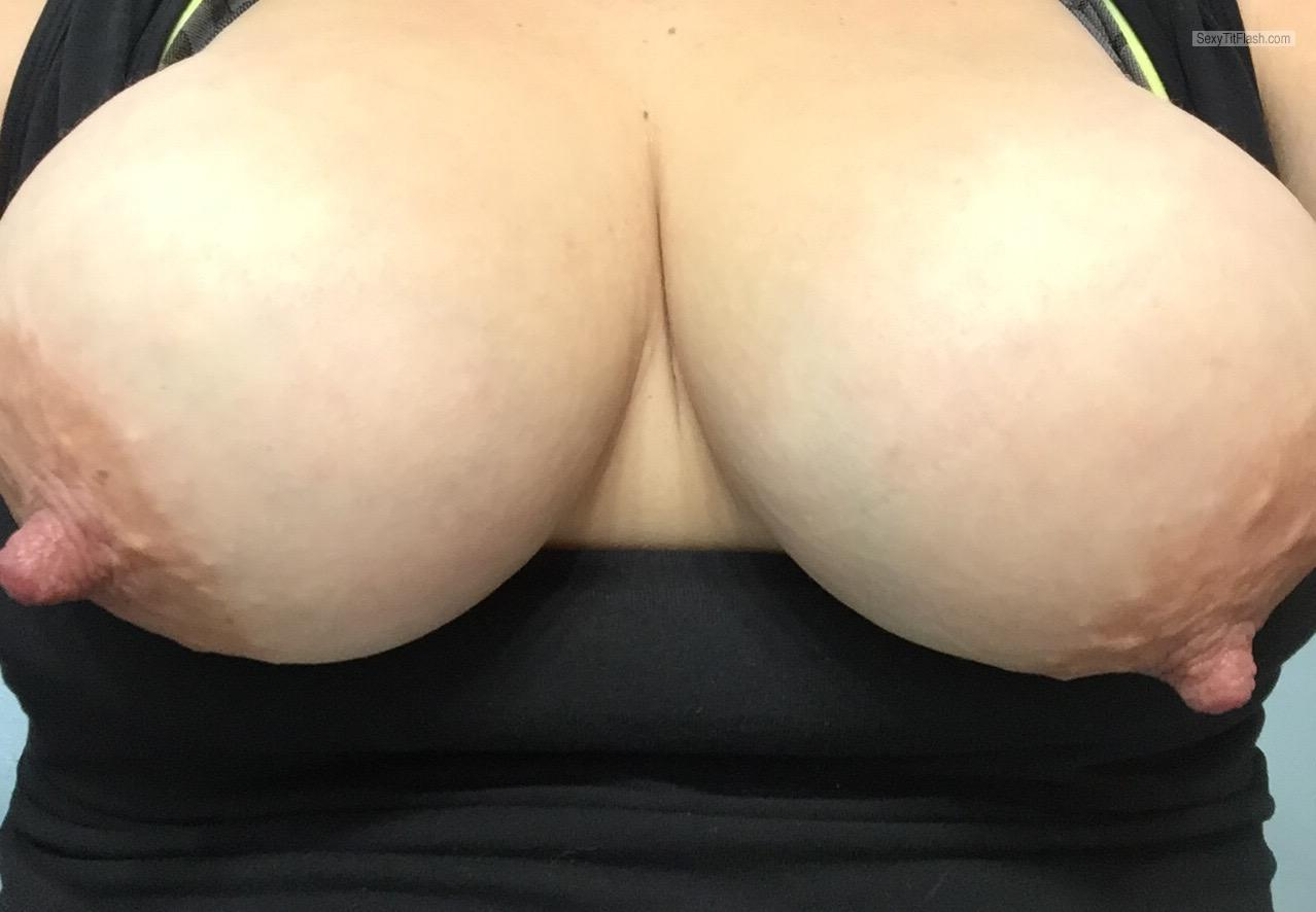 Tit Flash: My Medium Tits (Selfie) - Lonely.Sam from United Kingdom