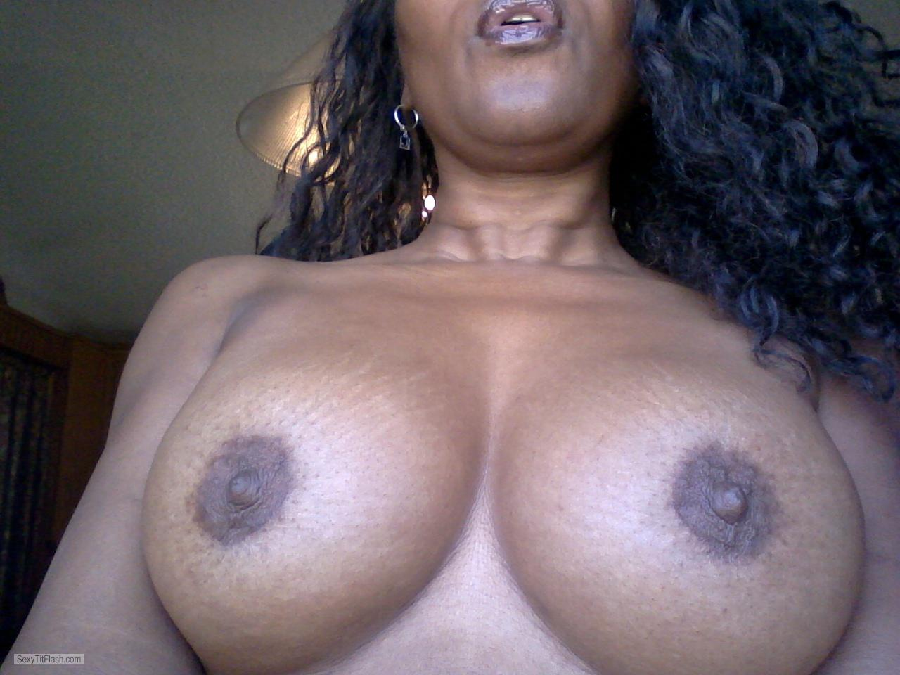 Tit Flash: My Big Tits (Selfie) - Samantha from United States