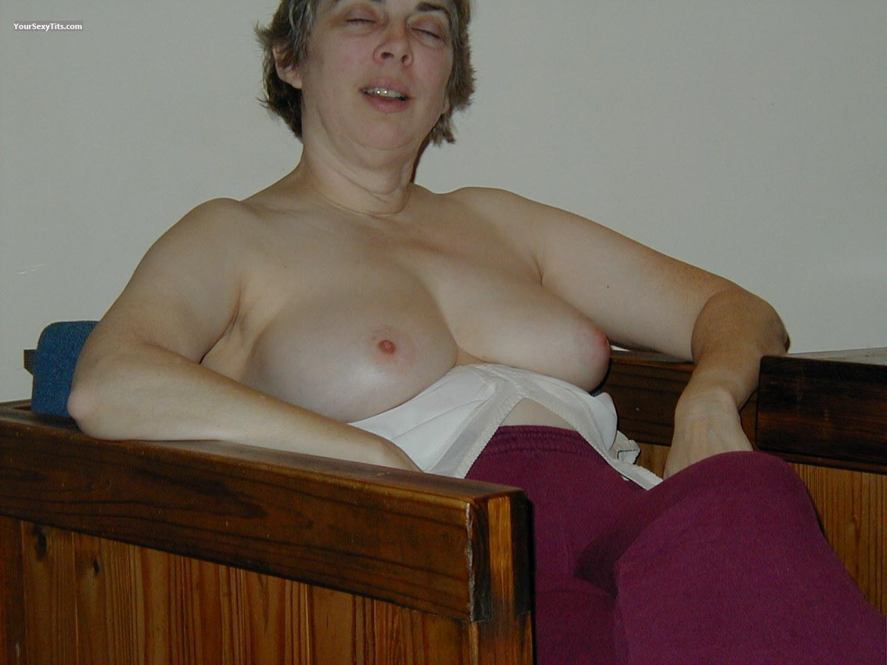 Tit Flash: Medium Tits - Georgie B from United States
