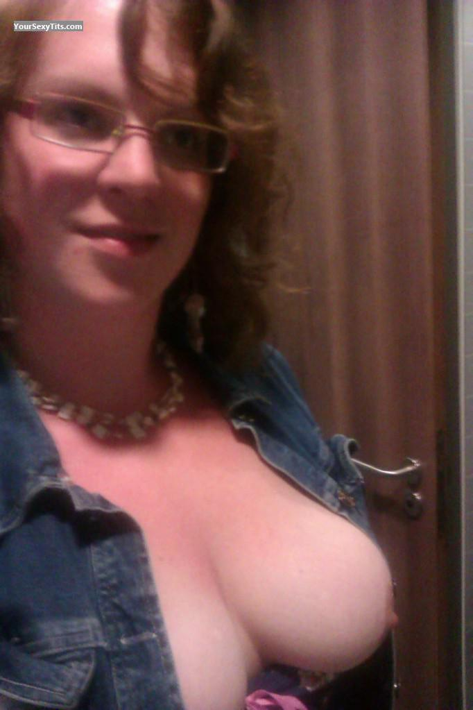 My Medium Tits Topless Selfie by Assie