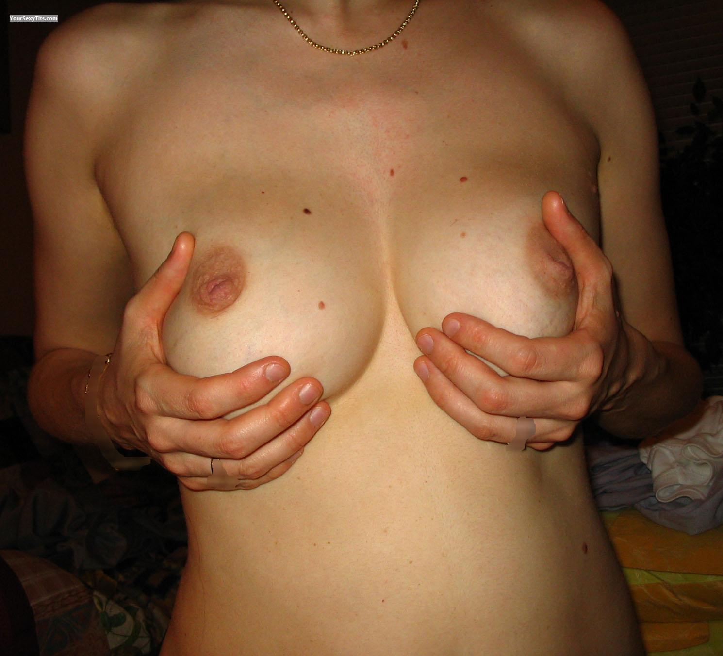 Tit Flash: Medium Tits - Wagner from Belgium