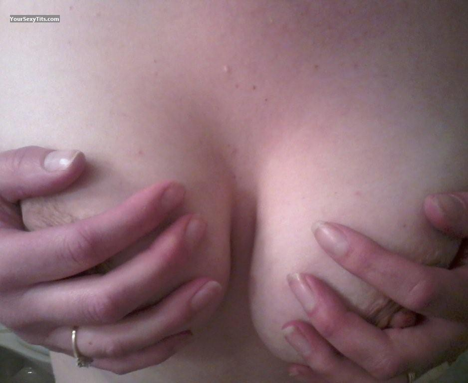 Tit Flash: My Medium Tits (Selfie) - Shy Girl from United States