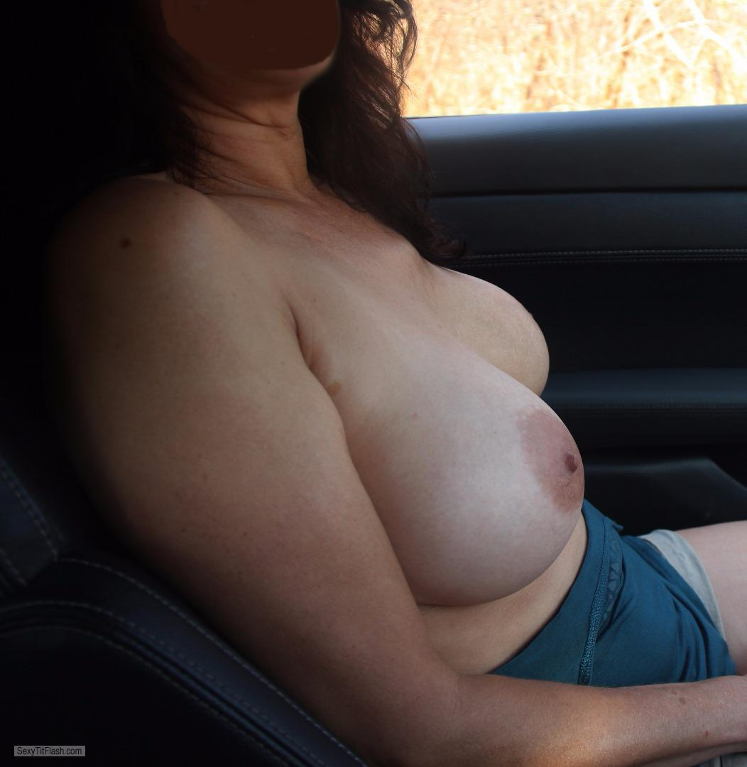 Tit Flash: My Medium Tits - Partee Girl from South Africa