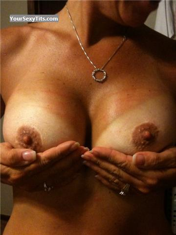 Tit Flash: Medium Tits - UT Milf from United States
