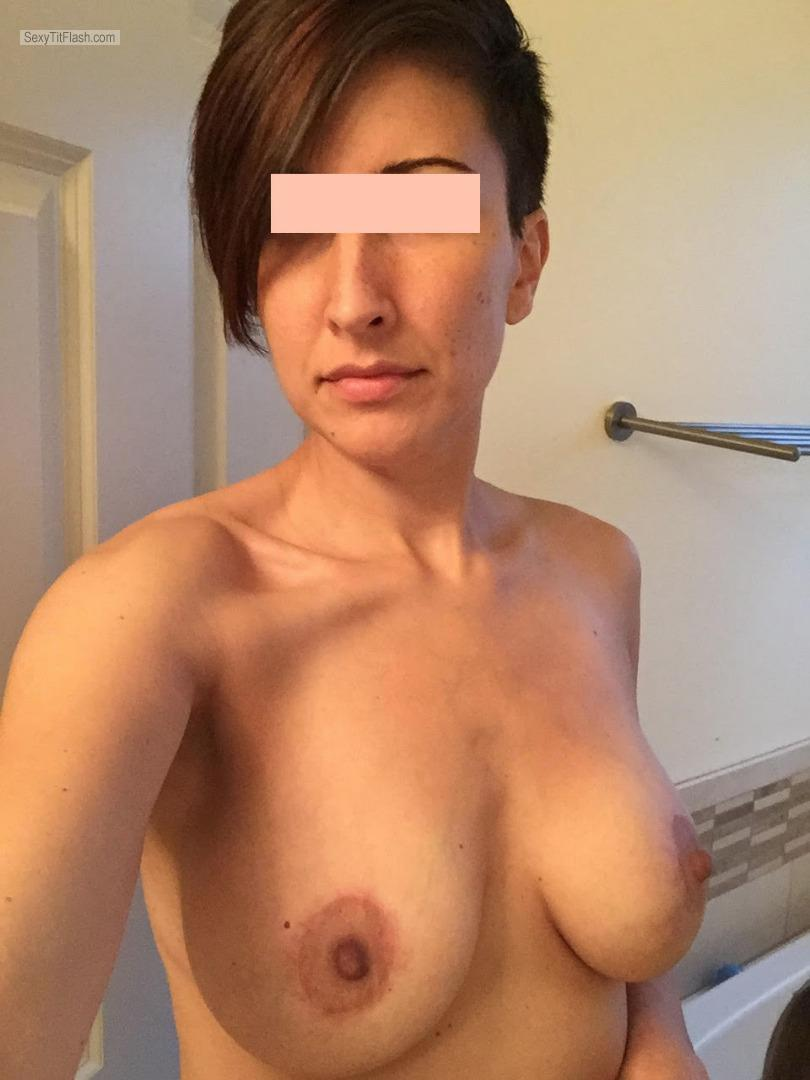 My Medium Tits Topless Selfie by The Fixer