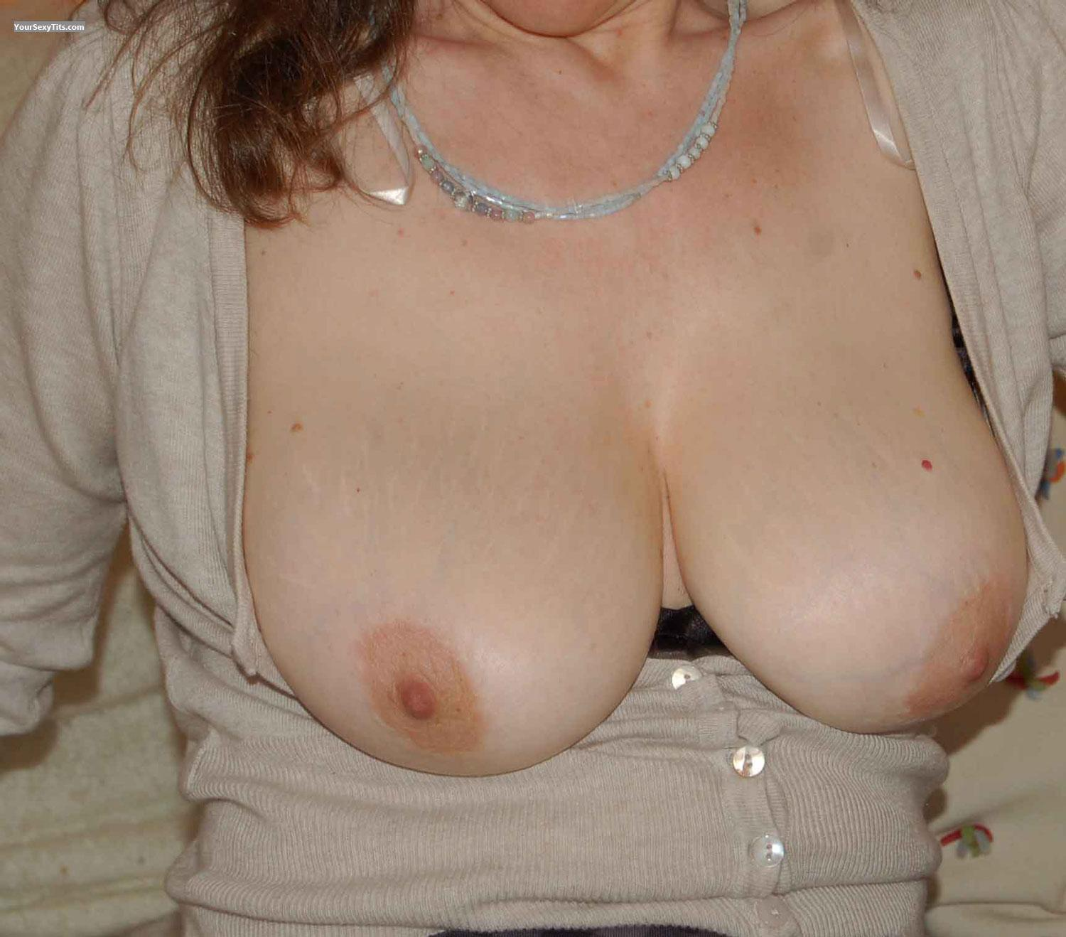 Tit Flash: Medium Tits - Madita from United States