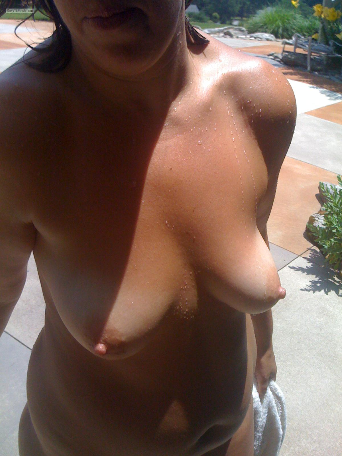 Medium Tits Of My Wife Julia