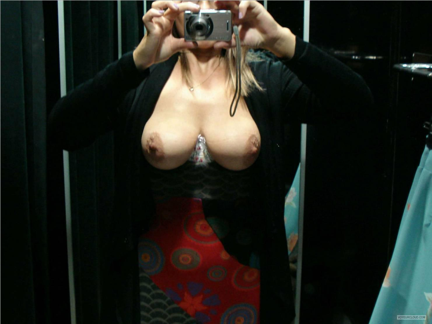 Big Tits Of My Wife Selfie by Ukwife4u2c
